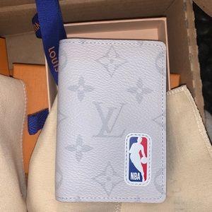 Louis Vuitton NBA pocket organizer Antartica bag